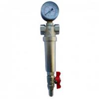Фильтр механический EUROS с манометром 1
