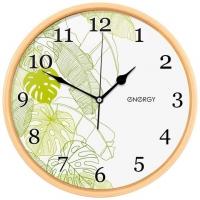 Часы настенные Energy EC-107  32 х4,5 см круглые, плавный ход в Орехово-Зуево СтройДвор на Карболите
