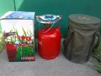 Плита газовая туристическая КЕМПИНГ баллон 8 л в Орехово-Зуево СтройДвор на Карболите