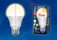 Лампа св/д LED-A60-11W/WW/E27/FR/DIM PLP01WH диммируемая