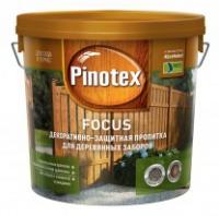 Пинотекс FOCUS Зеленый лес для защиты заборов 5 л в Орехово-Зуево СтройДвор на Карболите