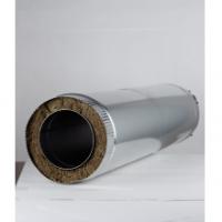 Труба сендвич для дымохода 200 х 115 х 1000 мм н0,5/н0,5 в Орехово-Зуево СтройДвор на Карболите