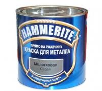 Краска для металла серая молотковая ХАММЕРАЙТ 2,5 л в Орехово-Зуево СтройДвор на Карболите