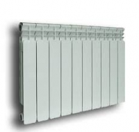 Радиатор отопления алюминиевый Ecoflow 500/8 секций в Орехово-Зуево СтройДвор на Карболите