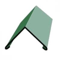 Конек простой 2,00х0,15х0,15 (RAL-6005 зеленый) 0,5 в Орехово-Зуево СтройДвор на Карболите