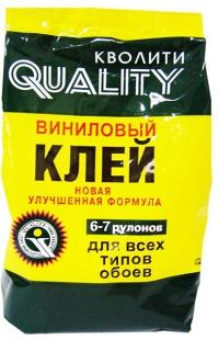 QUALITY Клей обойный виниловый 200 г в Орехово-Зуево СтройДвор на Карболите
