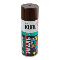 KUDO KU-1012 Краска аэрозоль Коричневая 520 мл в Орехово-Зуево СтройДвор на Карболите