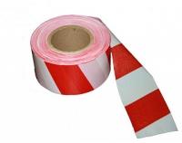 Лента сигнальная для огрождения 50 мм 200 м красно-белая в Орехово-Зуево СтройДвор на Карболите