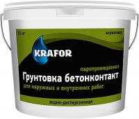 Бетон-контакт 6 кг KRAFOR в Орехово-Зуево СтройДвор на Карболите