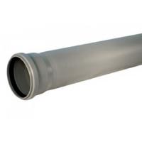 Канализационная труба 50 x 1000 мм серая в Орехово-Зуево СтройДвор на Карболите