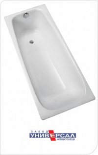 Ванна чугунная КЛАССИК 1500 х 700 Белая (ножки в комплекте) в Орехово-Зуево СтройДвор на Карболите