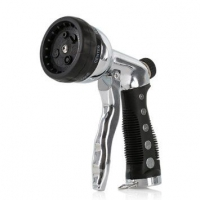 Пистолет-распылитель для полива 6 режимов хром Professional в Орехово-Зуево СтройДвор на Карболите