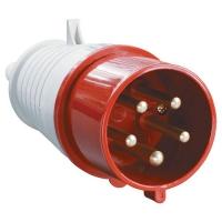 Вилка кабельная переносная 32А 3P+PE+N 380В IP44 025 в Орехово-Зуево СтройДвор на Карболите