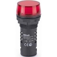 Лампа ADDS 22 мм красная LED в Орехово-Зуево СтройДвор на Карболите