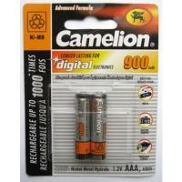 Аккумулятор Camelion ААА 900mAh Ni-MH 2 шт в Орехово-Зуево СтройДвор на Карболите