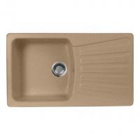 Мойка для кухни (искусственный мрамор) М-12 AquaGranitEx 855 х 500/415 х 410/190 в Орехово-Зуево СтройДвор на Карболите