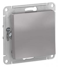 Выключатель одноклавишный Schneider Electric схема 1 10АХ цвет алюминий в Орехово-Зуево СтройДвор на Карболите