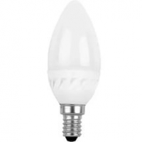 Лампа св/д Ergolux LED С35 9W E27 3000K свеча в Орехово-Зуево СтройДвор на Карболите