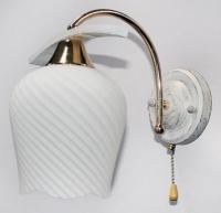 Бра 11135/1А золото-белый в Орехово-Зуево СтройДвор на Карболите