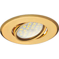 Светильник потолочный поворотный плоский Золото 25x90 в Орехово-Зуево СтройДвор на Карболите