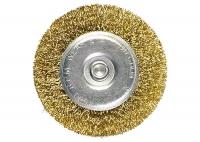 Щетка для дрели 100 мм плоская со шпилькой в Орехово-Зуево СтройДвор на Карболите