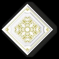 Плита потолочная Ф1-024 золото в Орехово-Зуево СтройДвор на Карболите