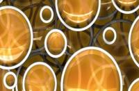 Фартук для кухни ХДФ Элит Круги 3 х 610 х 2440 мм в Орехово-Зуево СтройДвор на Карболите