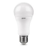 Лампа светодиодная Gauss Elementary ЛОН A60 E27 20W(1600lm) 4100K 120×60 матовая, пластик/алюм. 23229 в Орехово-Зуево СтройДвор на Карболите