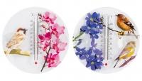 Термометр оконный Цветы 473-011 в Орехово-Зуево СтройДвор на Карболите