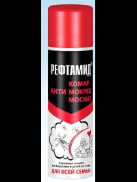 РЕФТАМИД Для всей семьи (от 1 года) Аэрозоль от комаров 145 мл в Орехово-Зуево СтройДвор на Карболите