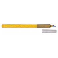 Нож макетный, рукоятка из ударопрочного пластика в Орехово-Зуево СтройДвор на Карболите