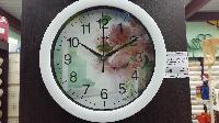 Часы настенные Energy EC-96 Цветы 27,5 х3,8 см круглые, плавный ход в Орехово-Зуево СтройДвор на Карболите