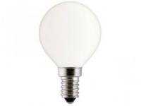 Лампа накаливания MIC Camelion 40/D/FR/E14 с матовой колбой, сфера в Орехово-Зуево СтройДвор на Карболите