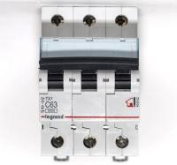 Legrand Выключатель авт. мод. 3п C 50А TX3 6кА Leg 404061 в Орехово-Зуево СтройДвор на Карболите