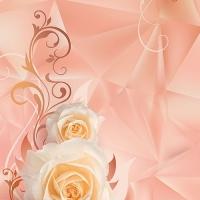 Фотообои 156 Розовый ноктюрн 98 х 260 в Орехово-Зуево СтройДвор на Карболите