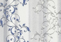 Обои 918/5 Земфира декор флиз 1,06 х 10 м голубые-серые в Орехово-Зуево СтройДвор на Карболите