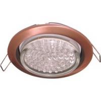 Ecola GX53-H4 светильник встраиваемый в потолок и стены   Черная медь 38x106  FP53P2ECB в Орехово-Зуево СтройДвор на Карболите
