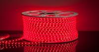 Лента светодиодная LED лента 10х7 мм 60 led/m Красная SMD3528 220В в Орехово-Зуево СтройДвор на Карболите