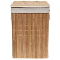 Корзина для белья 35 х 50 см бамбук BLB-08-D 312139 в Орехово-Зуево СтройДвор на Карболите