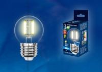 Лампа св/д LED-G45-6W/WW/E27/CL PLS02WH