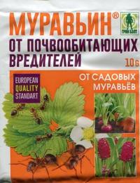 Муравьин (от садовых муравьев) 300 г в Орехово-Зуево СтройДвор на Карболите