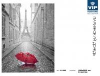 Фотообои 165 Парижский дождь 196 х 260 в Орехово-Зуево СтройДвор на Карболите