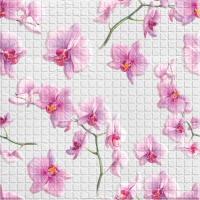 Листовая панель ПВХ 595х595 мм мозаика Орхиея в Орехово-Зуево СтройДвор на Карболите