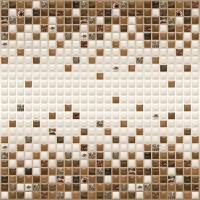 Листовая панель ПВХ 595х595 мм мозаика Шоколаная мозаика в Орехово-Зуево СтройДвор на Карболите