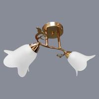 Люстра 6555/2 FGD золото 2х40W E27 в Орехово-Зуево СтройДвор на Карболите