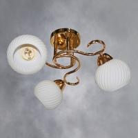 Люстра 6026-3 FGD золото 3х40W E27 SHGN17 в Орехово-Зуево СтройДвор на Карболите