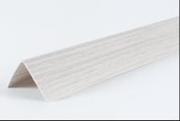 Угол ПВХ 20х20 мм 2,7 м Ясень белый в Орехово-Зуево СтройДвор на Карболите