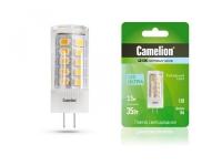 Лампа светодиодная Camelion LED2.5-JD-SL/830/G4 в Орехово-Зуево СтройДвор на Карболите