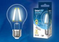 Лампа св/д LED-A60-7W/NW/E27/CL/DIM GLA01TR диммируемая 4000К прозрачная в Орехово-Зуево СтройДвор на Карболите