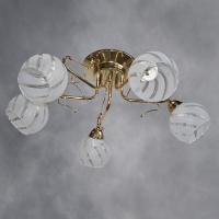 Люстра 815-5 FGD золото 5х60W E27 GJRS17 в Орехово-Зуево СтройДвор на Карболите